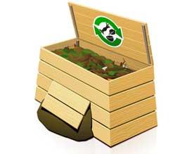 Build a vermicomposting bin
