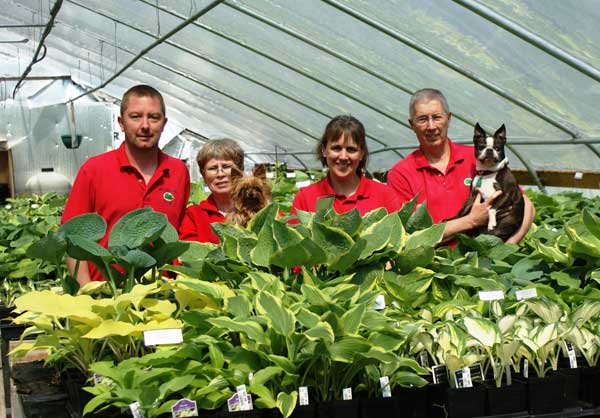 NH Hostas cheerful staff